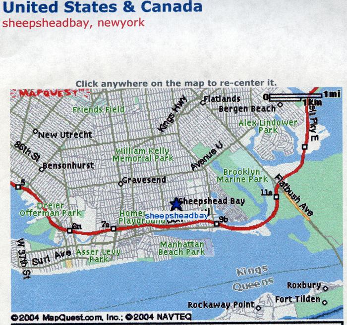 sheepshead bay brooklyn map De Morelos Gallery 115 Sheepshead Bay Map sheepshead bay brooklyn map
